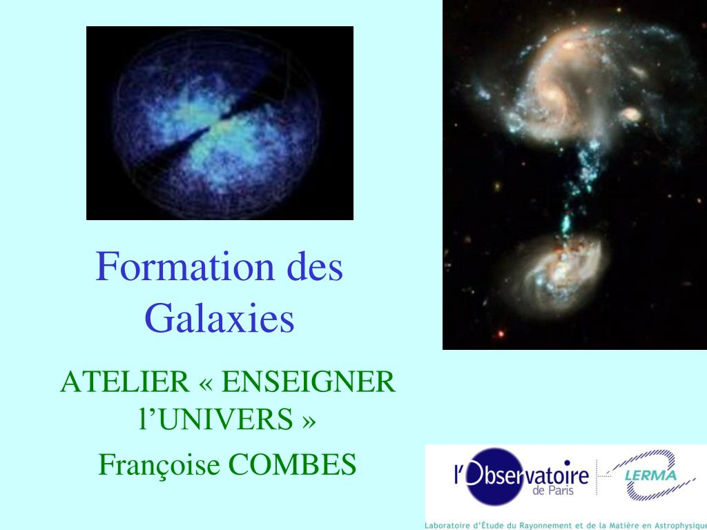 formation des galaxies l.