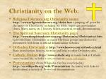 christianity on the web