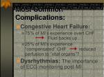 most common complications