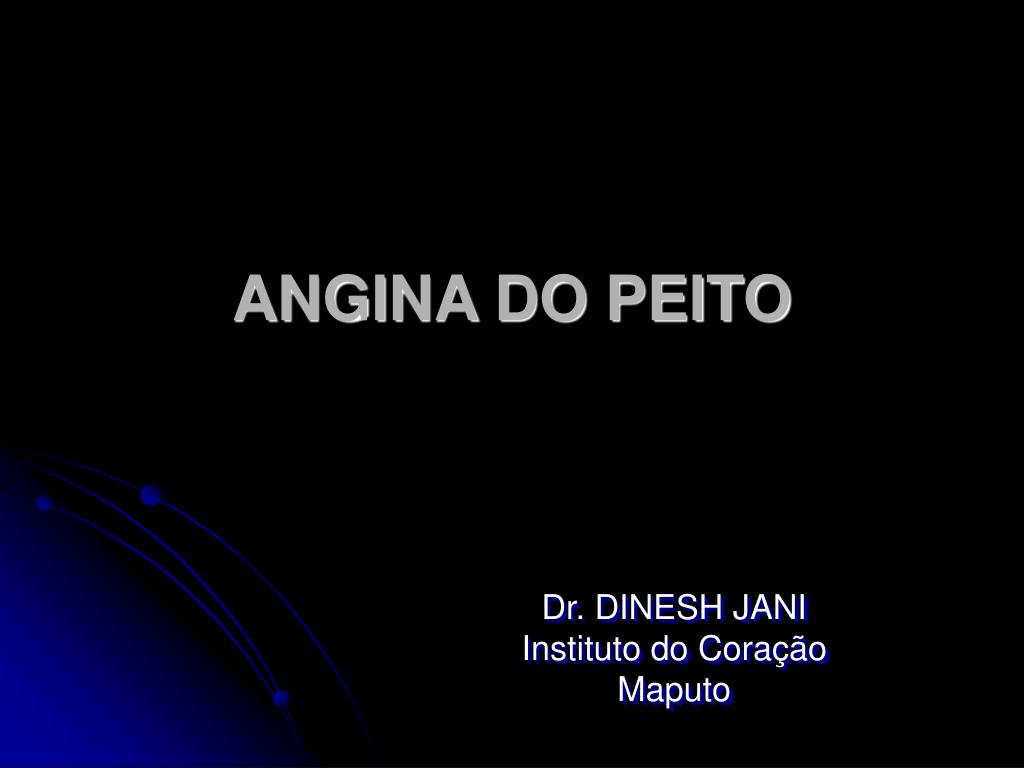 angina do peito l.