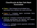 classifica o de new york heart association
