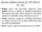 aktivne solidarne obveze l 425 434 l 54 63