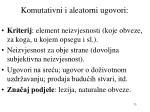 komutativni i aleatorni ugovori