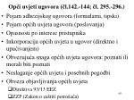 op i uvjeti ugovora l 142 144 l 295 296