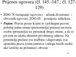 p rijenos ugovora l 145 147 l 127 129