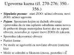 ugovorna kazna l 270 276 350 356