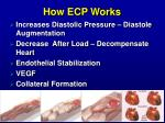how ecp works