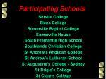 participating schools10