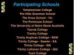 participating schools13