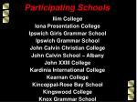 participating schools5