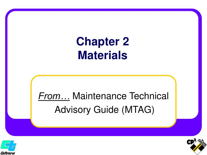 chapter 2 materials n.