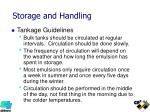 storage and handling3