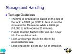 storage and handling4