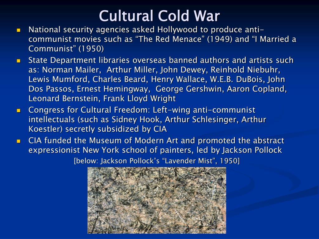 Cultural Cold War
