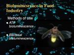 bioluminescence in food industry