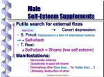 male self esteem supplements