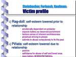 steinbacher forinash kaufman victim profile