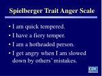 spielberger trait anger scale