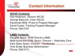 contact information1