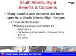 south atlantic bight benefits concerns