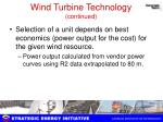 wind turbine technology continued1