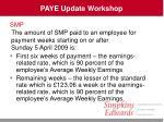 paye update workshop13