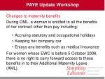 paye update workshop29