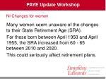 paye update workshop32