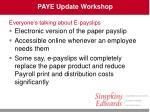 paye update workshop34