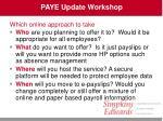 paye update workshop35