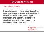 paye update workshop36
