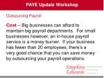 paye update workshop38
