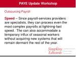 paye update workshop42