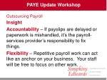 paye update workshop43