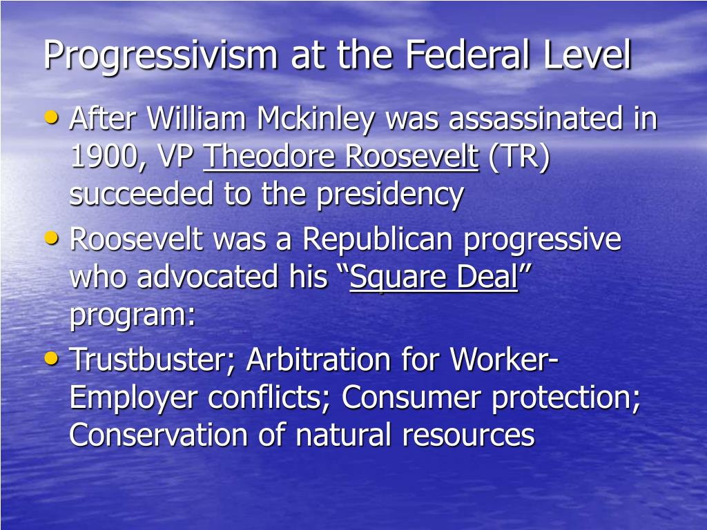 roosevelts conservation and consumer protection