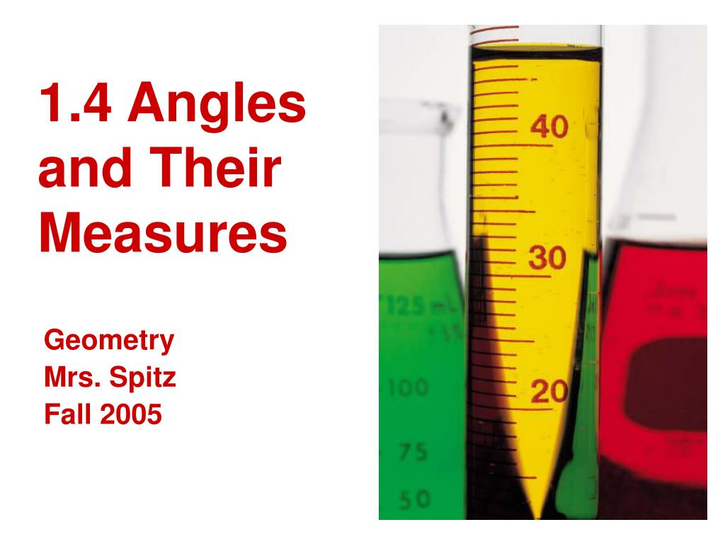 1 4 angles and their measures l.