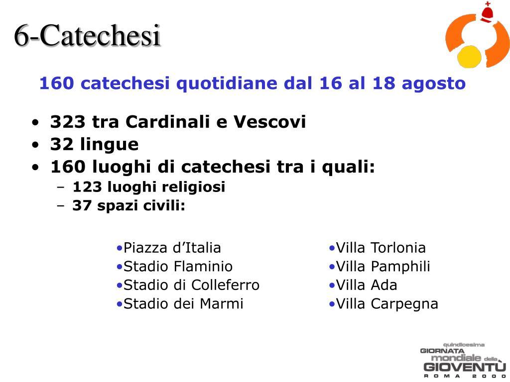 6-Catechesi