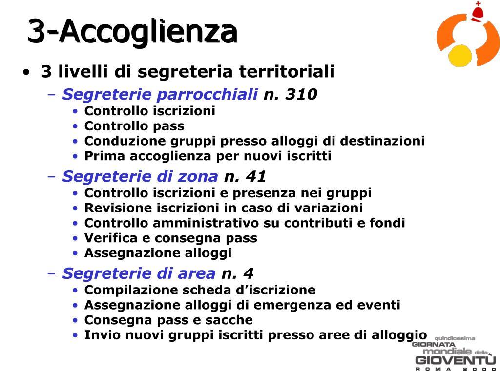 3-Accoglienza