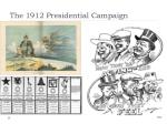 the 1912 presidential campaign