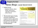 news blogs local government