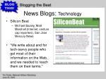 news blogs technology