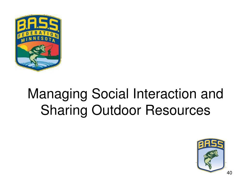 Managing Social Interaction and Sharing Outdoor Resources