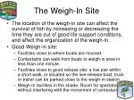 the weigh in site