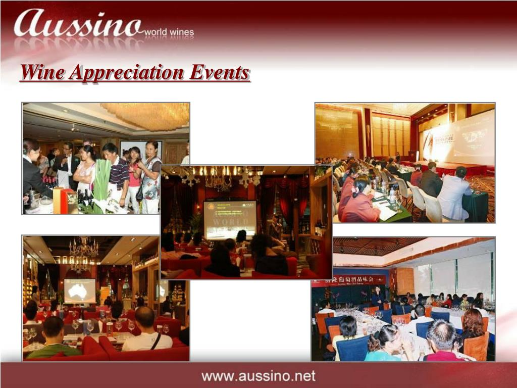 Wine Appreciation Events