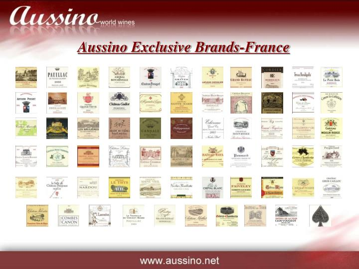 Aussino Exclusive Brands-France