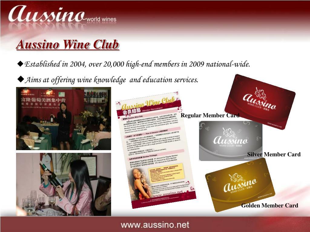 Aussino Wine Club