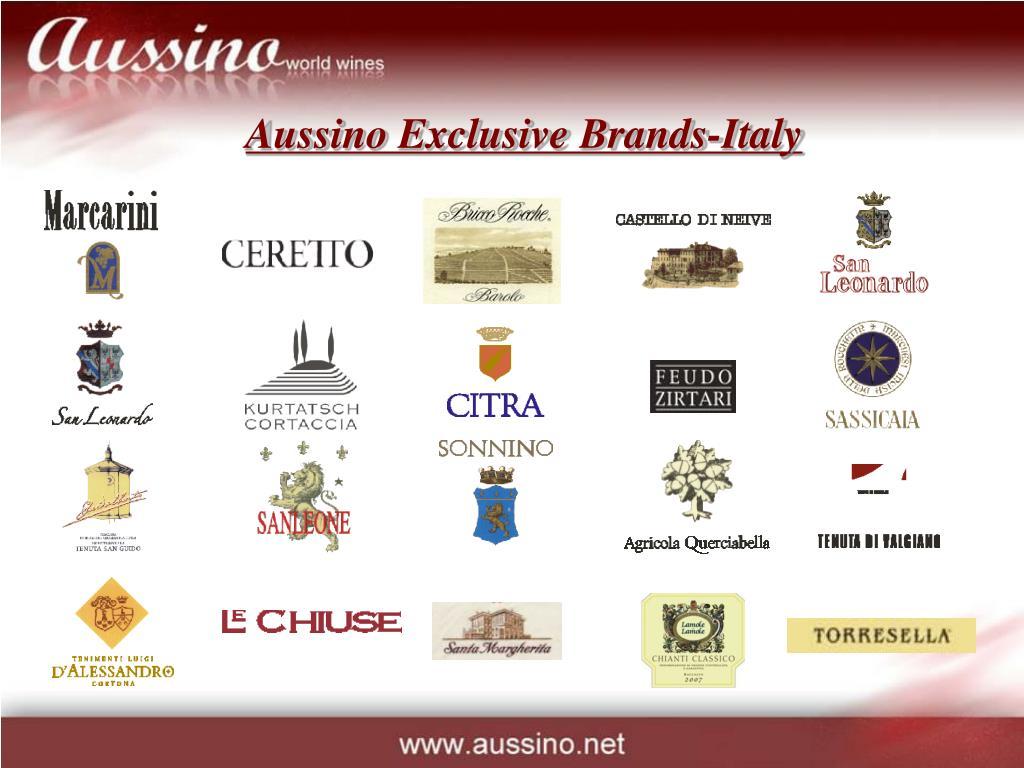 Aussino Exclusive Brands-Italy