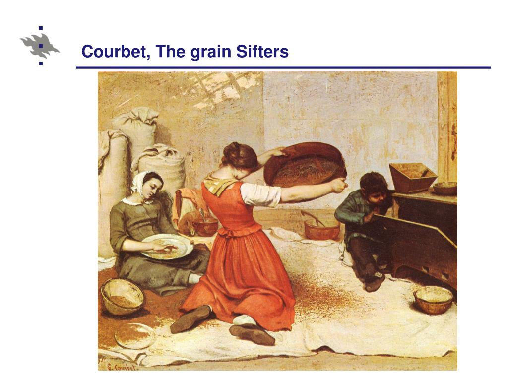 Courbet, The grain Sifters