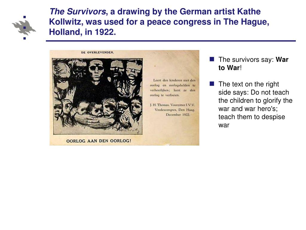 The survivors say: