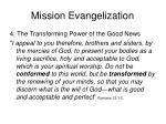 mission evangelization24